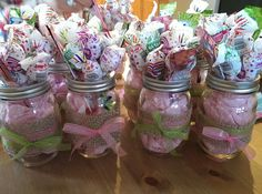 Mason Jar Centerpiece Ideas Baby Shower Mason jars - baby shower