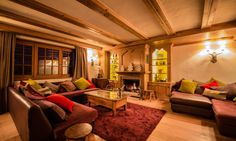 Chalet Maisonnée A, Luxury Courchevel Ski Chalet. Courchevel 1850, Living Area, Living Room, Ski Chalet, Open Plan Living, Perfect Place, Terrace, Skiing, Relax