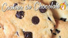 TENEDOR LIBRE - DULCES - Cookies de chocolate al estilo Pepitos Cookies Receta, Cookie Do, Desserts, Food, Goals, Youtube, Chocolate Chips, Breakfast, Cooking Recipes