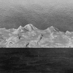 Wilkins photograph of the Firmament? North Pole in 1931.