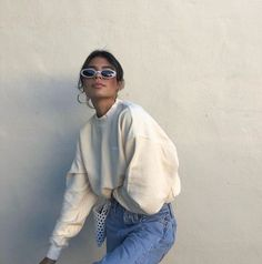Jen ceballos on madhappy produc aesthetic ceballos jen madhappy produc 70 the best street style fashion ideas of the year Look Fashion, 90s Fashion, Fashion Beauty, Fashion Outfits, Fashion Trends, Fashion Women, Travel Outfits, High Fashion, Winter Fashion