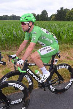 #TDF2016 103th Tour de France 2016 / Stage 4 Mark CAVENDISH Green Points Jersey / Saumur Limoges / TDF /