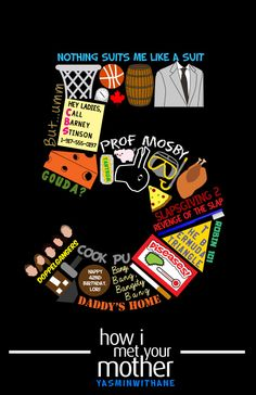 How I Met Your Mother Season 5 collage