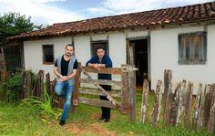 Zezé Di Camargo e Luciano: emoção em ida ao Sítio Novo