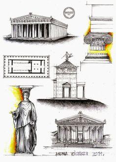 03-Greek-Architecture-Andrea-Voiculescu-Drawings-of-Historic-Architecture-www-designstack-co