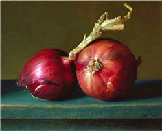 still life quick heart — Ken Marlow Crimson and Teal 2002 Realistic Oil Painting, Still Life Oil Painting, Fruit Painting, Life Inspiration, Painting Inspiration, Watercolor Fruit, Still Life Art, Botanical Illustration, Botanical Art