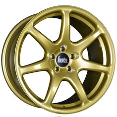 18 inch STAGGERED BOLA B7 5x100 GOLD 5 stud alloy wheels
