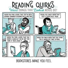 ReadingQuirks #21. The Emotional Rollercoaster That Are Bookstores.