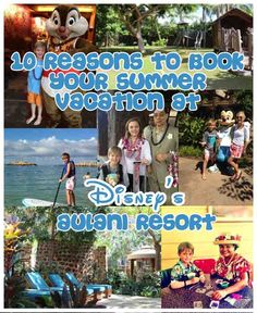 if you needed a reason to book a summer stay at Disney's Aulani Resort in Hawaii, here are 10!