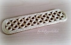 красивая салфетница своими руками Jute Crafts, Twine, Clothes Hanger, Silver, Projects, Jewelry, Craft, Homemade Gifts, Home Made