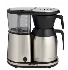 New 8 Cup Coffee Brewer with Stainless Steel Lined Thermal Carafe | Bonavita World