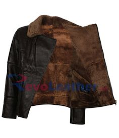 Mens Dark Brown Real Fur Lining Bomber B3 Aviator Warm Winters Leather Jacket Winter Leather Jackets, Winter Sale, Dark Brown, Aviation, Outdoor Blanket, Fur, Clothes, Women, Outfit