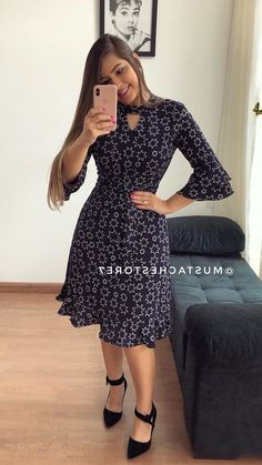 Shop sexy club dresses, jeans, shoes, bodysuits, skirts and more. Modest Dresses, Cute Dresses, Beautiful Dresses, Casual Dresses, Short Dresses, Trend Fashion, Fashion Outfits, Frock For Women, Frock Design
