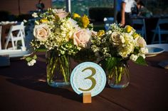 doily table number