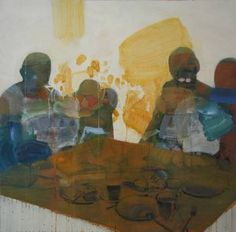 "Saatchi Art Artist Ewa Konior; Painting, ""Supper"" #art"