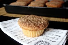 muffins de buttermilk y canela