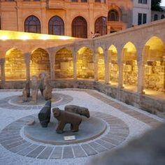 Azerbaïdjan Cité fortifiée de Bakou avec le palais des Chahs de Chirvan et la tour de la Vierge