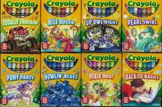 Crayola pick your packs Art Supplies Storage, Candy Crafts, Kids Room Organization, School Stationery, Art Case, Art N Craft, Toy Rooms, Pixie, Teaching Art