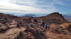 Hike at Red Mountain Resort near St. George, Utah