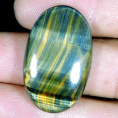 32.50cts WONDERFUL NATURAL EXCLUSIVE TOP TIGER EYE OVAL CABOCHON LOOSE GEMSTONE