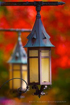 lanterns...  Michigan State University - Agriculture Hall by Matt Pasant, via Flickr