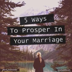 5 Ways Psalm 1 Teaches Us How To Prosper In Marriage --- #bgbg2