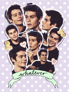 dylan o'brien tumblr collage - Buscar con Google