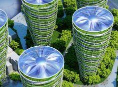 パリの未来都市