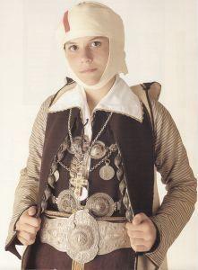 Pogoni-epirus Greek costume