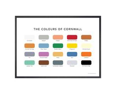 The Colours of London Print Leigh Woods, Paint Charts, Black Cab, Printed Balloons, Air Balloon, Bristol, Picture Frames, Colours, London