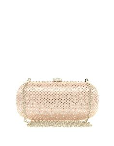 Johnny Loves Rosie Glitter Box Clutch Bag