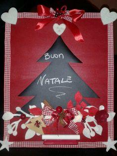 lavagnetta natalizia