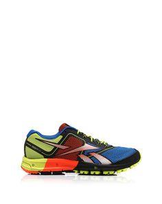 Technical fabric sneaker, limelight foam-soled by Reebok