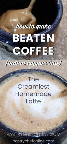 The best beaten coffee. Use Instant coffee, sugar and water to beat together a thick foam, then mix Coffee Mix, Coffee Uses, Coffee Latte, Espresso Coffee, Iced Coffee, Cappuccino Recipe, Coffee Creamer Recipe, Latte Recipe, Espresso Recipes