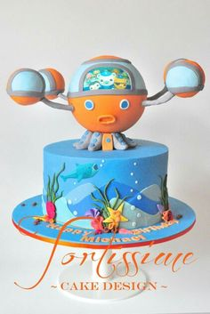 Awesome Octonauts cake!