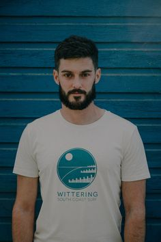 Wittering South Coast Surf T shirt. Gnarly Tree, ethical outdoor apparel.