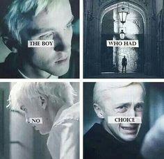 Draco Malfoy. This is sad. :/