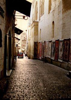 In the old city of Jerusalem, Palestine    by thepalestineyoudontknow