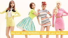 Pop Quiz: Which MAMAMOO member is your soul sister? | http://www.allkpop.com/article/2015/04/pop-quiz-which-mamamoo-member-is-your-soul-sister