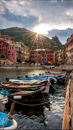 The charming Cinque Terre in Italy.