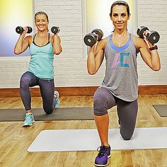 Looking to break a sweat? Try the workout I just did from POPSUGAR Active....
