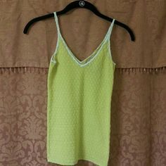 """JUST IN *** Free People """"Intimately"""" Tank - XS Sexy little yellow Intimately Free People tank. Excellent condition. Free People Tops Camisoles"""