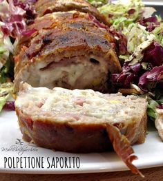 #Polpettone #saporito - Molliche di zucchero Meat Sauce Recipes, Meat Loaf Recipe Easy, Hamburger Recipes, Meatloaf Recipes, Dinner Dishes, Main Dishes, Meat Lovers Pizza, Minced Meat Recipe, Food C