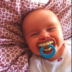 I wish this was around when Penelope used a soother!  So funny