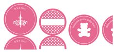 Free printable baby shower tags, return labels & other cute ideas to print.