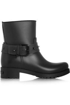 Karl Lagerfeld rain boots