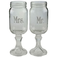 Celebrate It™ Occasions™ Mason Jar Toasting GlassesCelebrate It Occasions Mason Jar Toasting Glasses