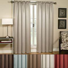 Home Classics® Bleeker Blackout Window Treatments  original $39.99