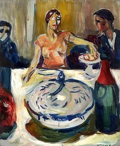 The Wedding of the Bohemian, Edvard Munch