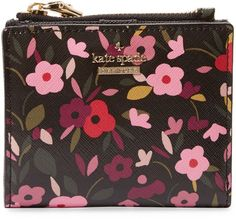 Kate Spade Women's Cameron Street Boho Floral Adalyn Leather Wallet